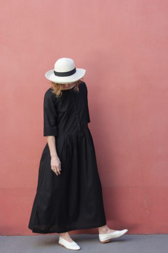 7 Momentum Dress Black Kowtow Stockist Sydney Australia Poepke 1