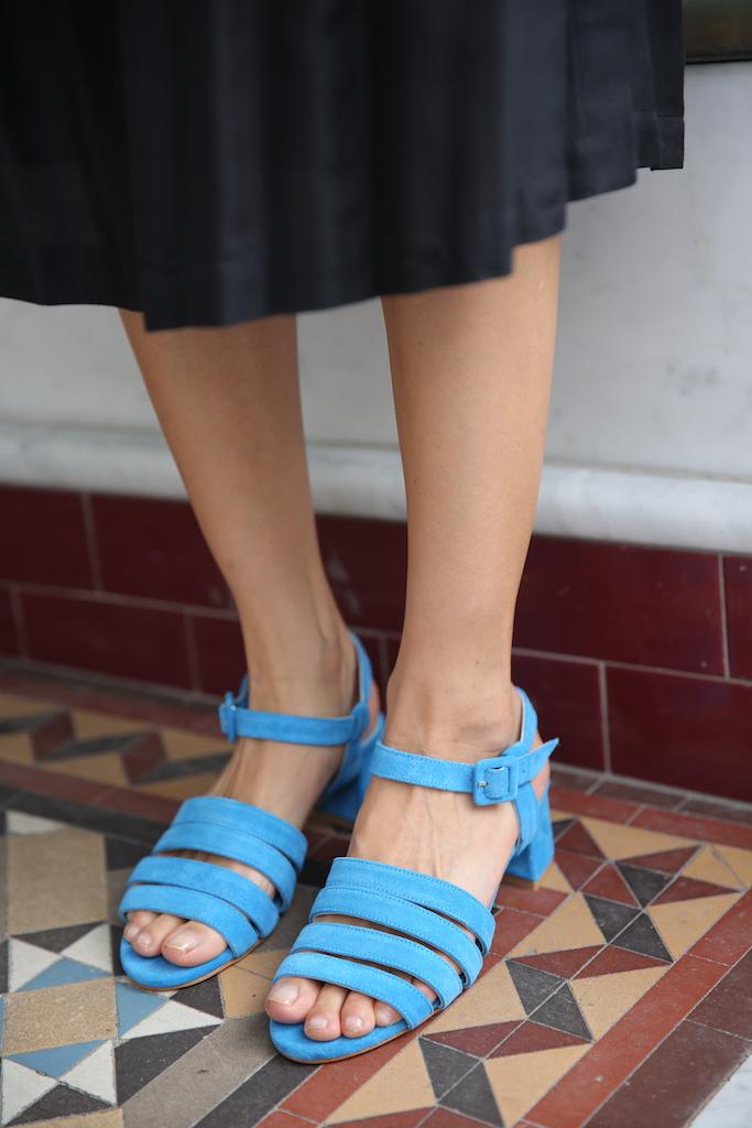Palma sandals - Blue Maryam Nassir Zadeh haf9z8iXY